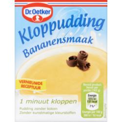 Dr. Oetker kloppudding bananensmaak (Saroma) - 74 gram