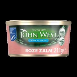 John West wilde roze zalm - 213 gram