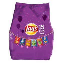 Lay's fun mix pack chips - 15 zakjes