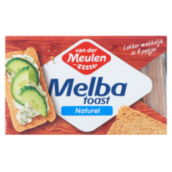 Melba toast naturel - 120 gram