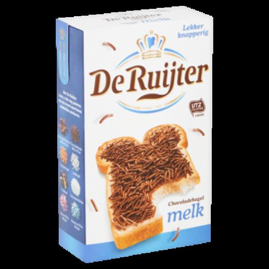 De Ruijter chocoladehagel melk - 390 gram