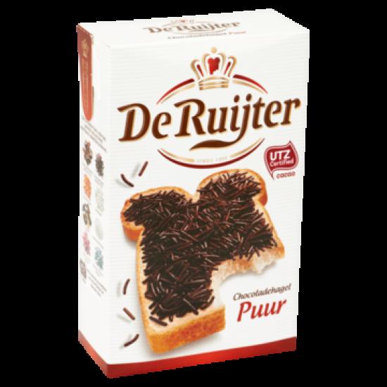 De Ruijter chocoladehagel puur - 390 gram