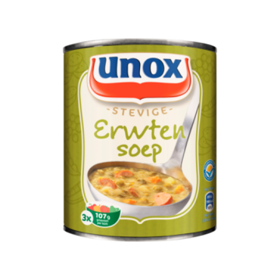 Unox stevige erwtensoep - 800ml