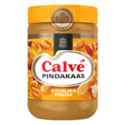 Calve pindakaas met nootjes - 650 gram