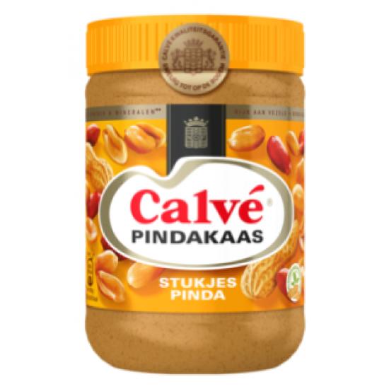Calve pindakaas met nootjes - 650 gram   *** let op houdbaarheidsdatum 22-11-2021 ***
