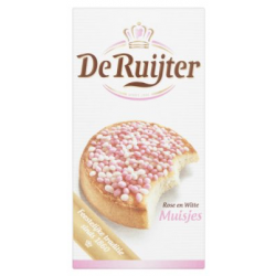 De Ruijter muisjes roze & wit - 280 gram