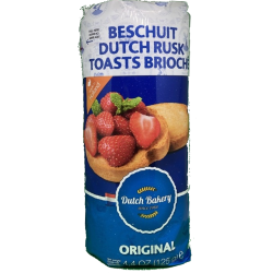 Dutch Bakery Beschuit - 125 gram