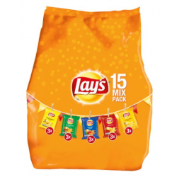Lay's mix pack / multipack mix chips - 15 zakjes