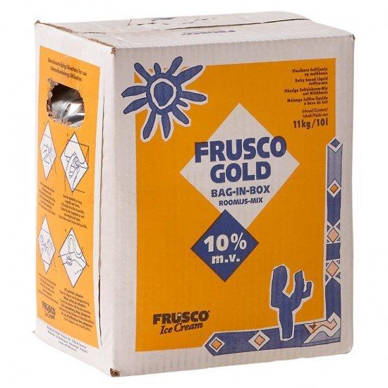 Frusco Gold - vanille softijsmix 10 liter