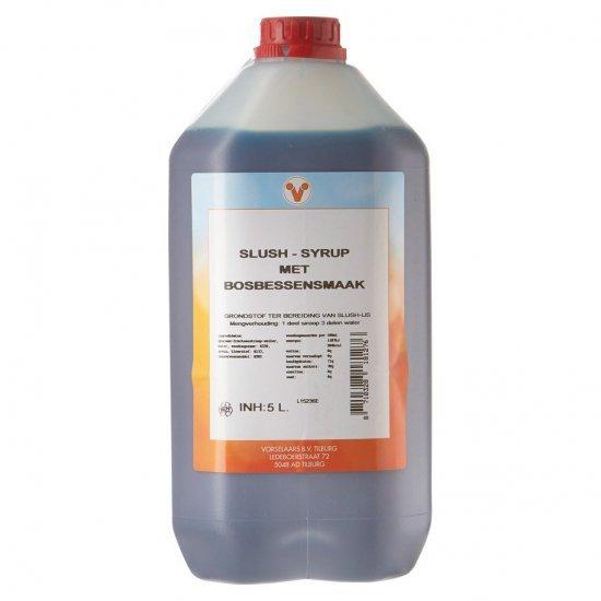 Slush siroop - 5 liter bosbessen