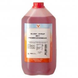 Slush siroop - 5 liter framboos