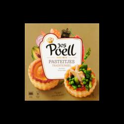 Pastei / ragout bakjes - 4 stuks