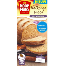 Koopmans mix voor volkoren brood