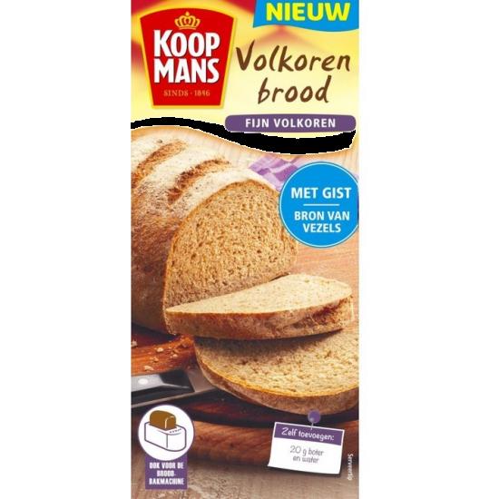 Koopmans mix voor volkoren brood