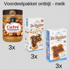 Voordelpakket ontbijt - melk