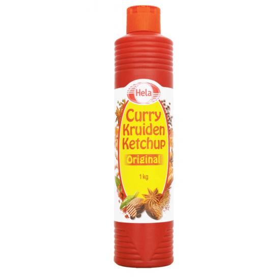 Hela curry saus - fles