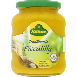 Kühne Hollandse piccalilly - 370 ml