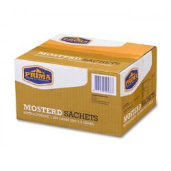 Prima mosterd sachets 5 gram - 250 stuks