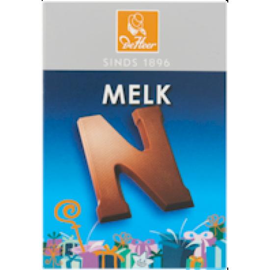 Chocoladeletter melk - 65 gram