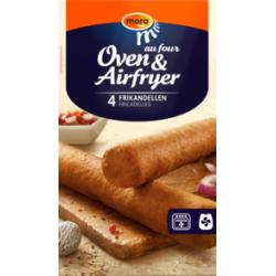 Oven / airfryer frikandel - 4 stuks