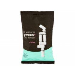 Witte krijtjes - 250 gram